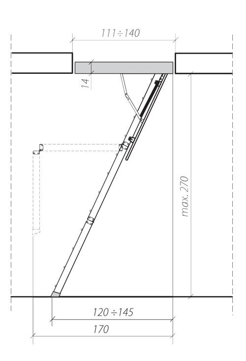 схема лестницы LWK 2