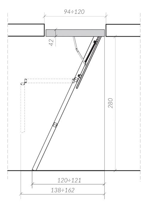 схема лестницы LWS 1