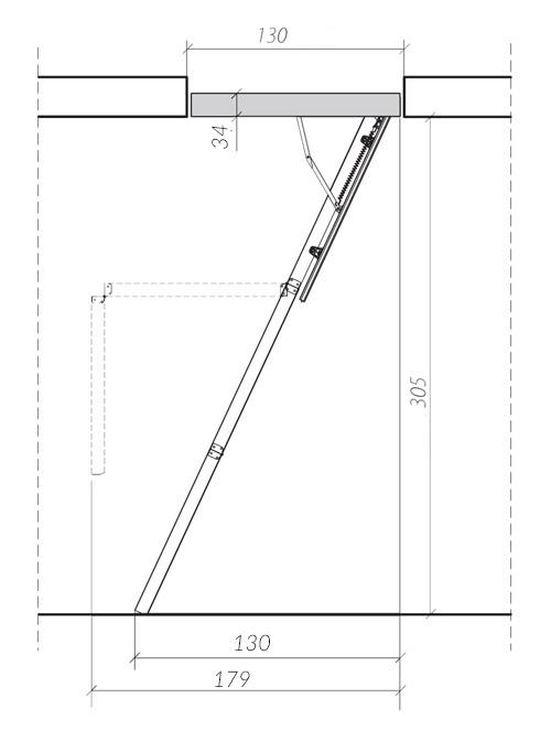 схема лестницы LWS 2