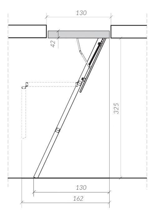 схема лестницы LWS 3