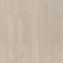 Паркетная доска Polarwood Ясень RICOTTA MATT LOC 3S кантри молочно-белый матовый лак