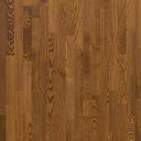 Паркетная доска Polarwood Ясень WHISKY MATT 3S кантри легкий браш темно-коричневый матовый лак
