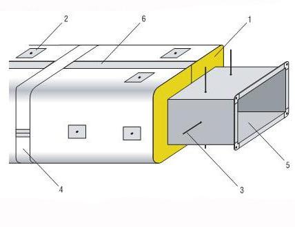 Изоляция воздуховода Alu Lamella Mat