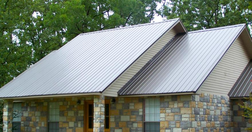 профнастил крыша