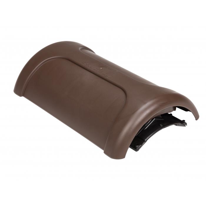 Коньковый вентиль PELTI - KTV/HARJA коричневый