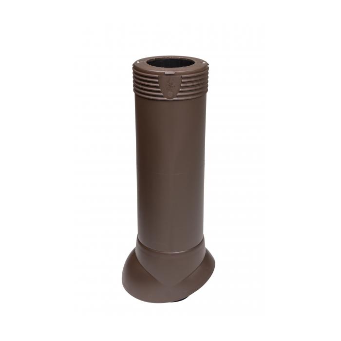 Вентиляционная труба коричневый