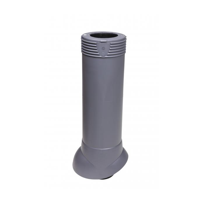 Вентиляционная труба серый