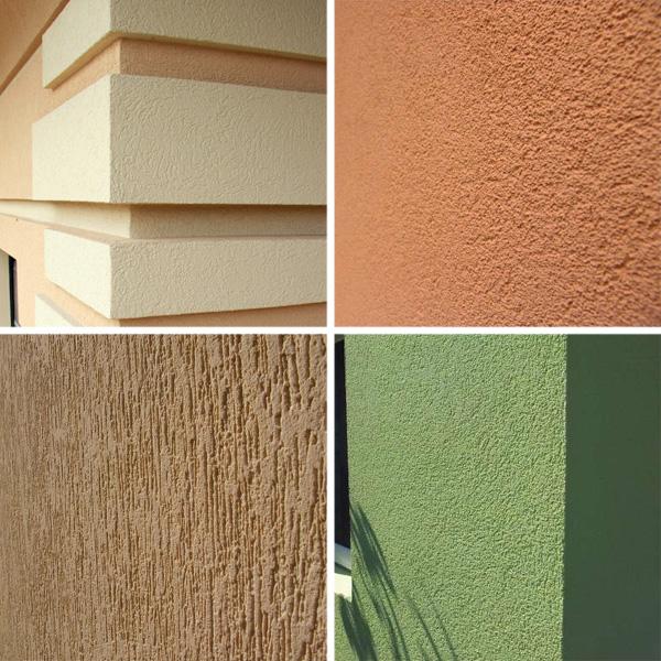 Фасадные штукатурки: как выбрать