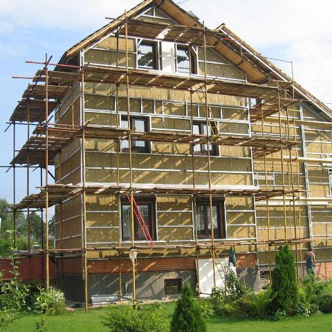 Что входит в фасадные работы
