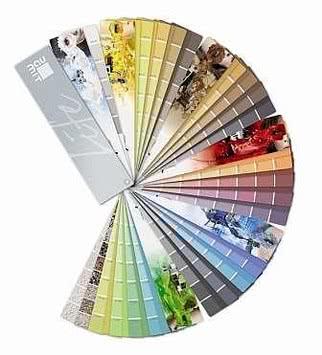 Цвет фасадной штукатурки