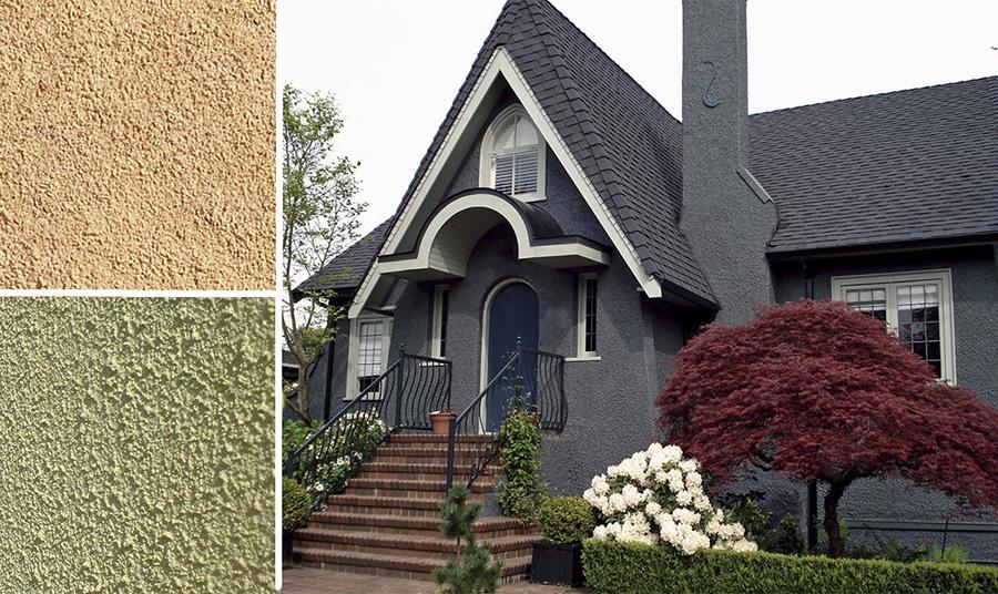 Как выбрать фасадную штукатурку