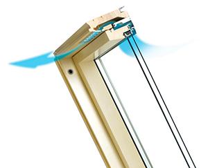 Вентиляционный клапан fakro