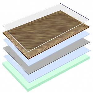 Линолеум - дублированная основа