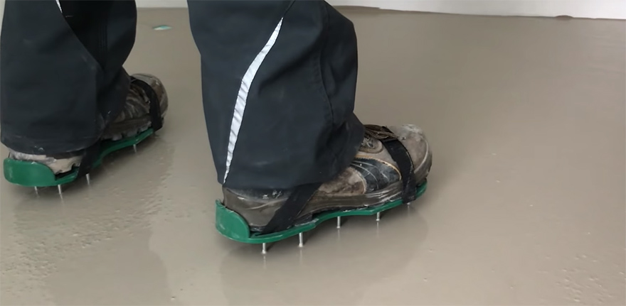 обувь для самовыравнивающего пола