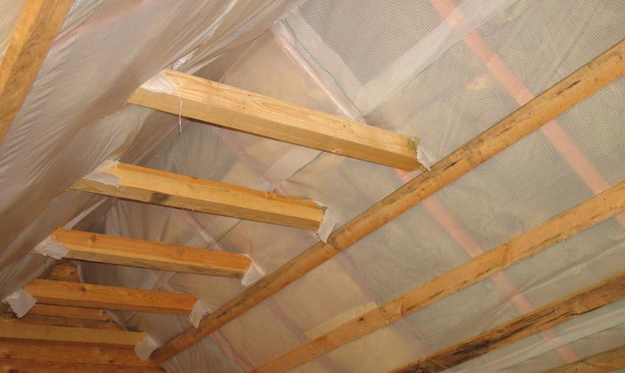 паробар'єр для даху
