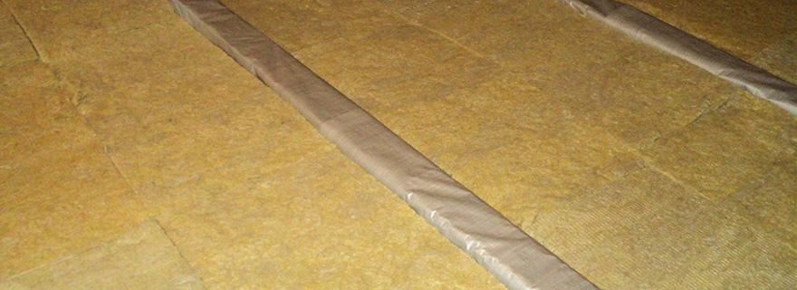 утепление пола базальтовой ватой