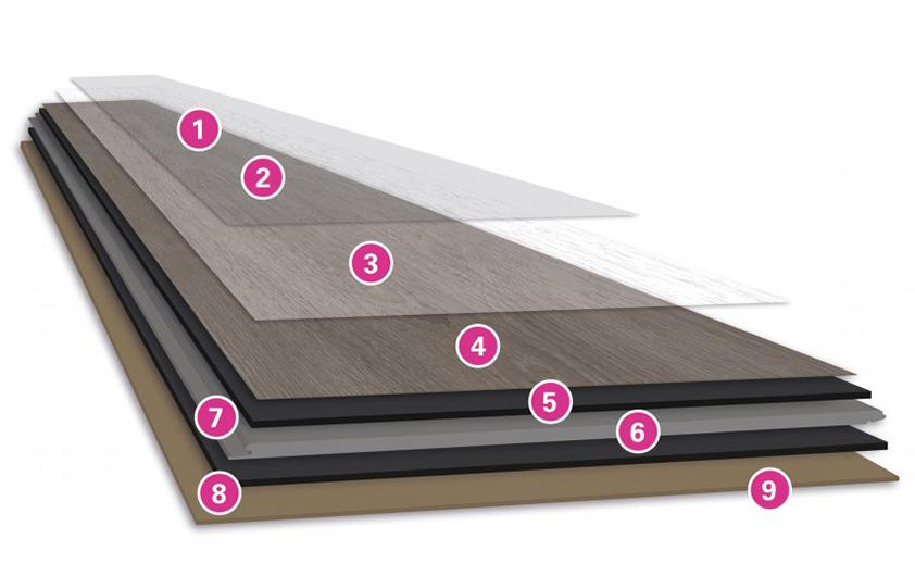 Wineo замкова напівтверда дизайнерська підлога