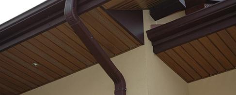пластикові софіти для підшивки даху