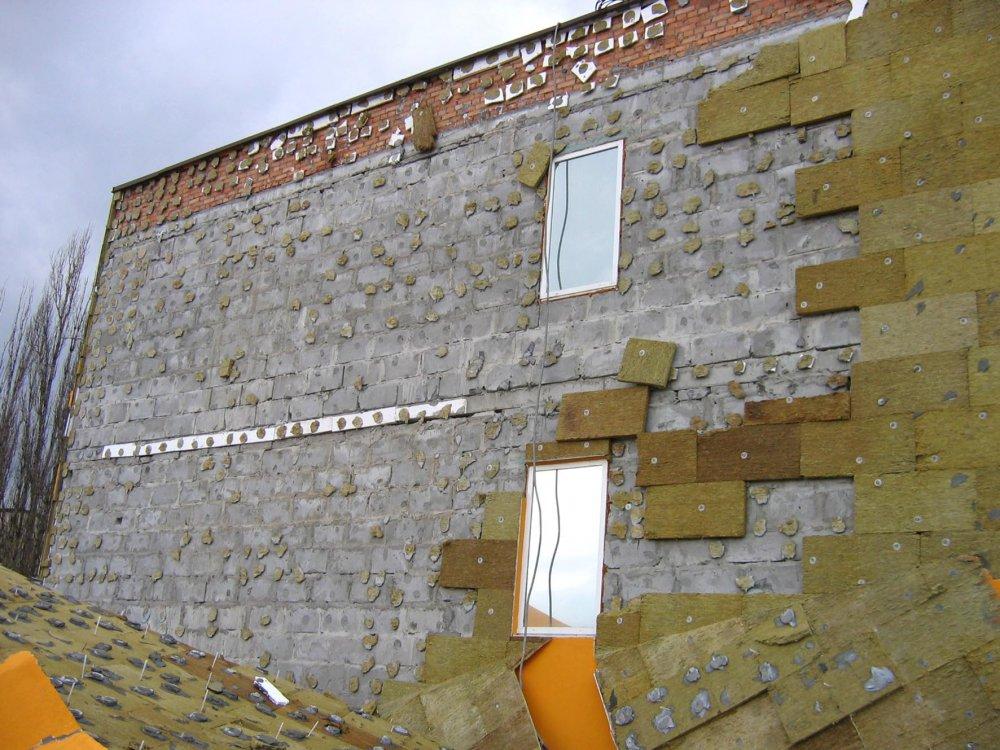 ошибки монтажа утеплителя на фасад дома