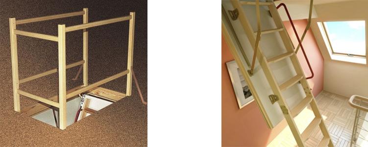 аксессуары к чердачным лестницам