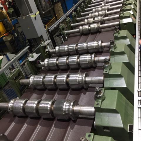как производится металлочерепица руукки
