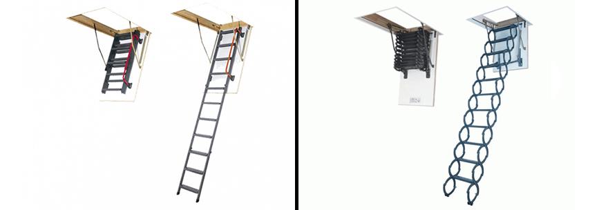 горищні сходи fakro ціна