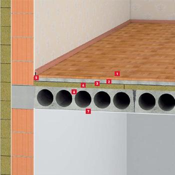 Пол по бетонной стяжке Steprock HD